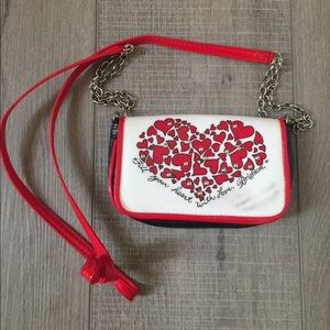 Brighton hearts mini purse